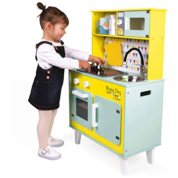 Wooden Toys Happy Day Big Cooker Pitter Patter Baby NI 4