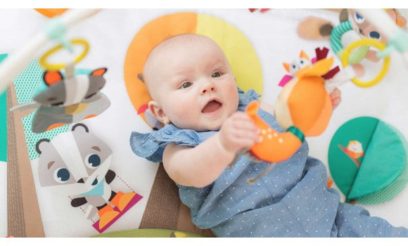 Playgyms & Playmats Into the Forest™ Gymini® Deluxe Pitter Patter Baby NI 5