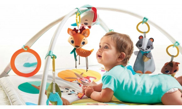Playgyms & Playmats Into the Forest™ Gymini® Deluxe Pitter Patter Baby NI 8