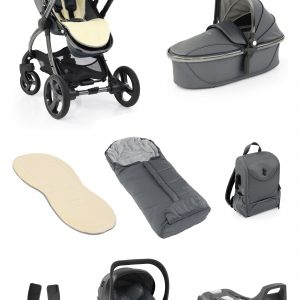 Travel Systems Egg2 Jurassic Grey Special Edition Bundle Pitter Patter Baby NI