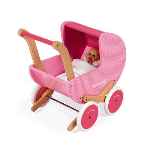 Dolls Prams & Dolls MADEMOISELLE DOLL'S PRAM (WOOD) Pitter Patter Baby NI 6