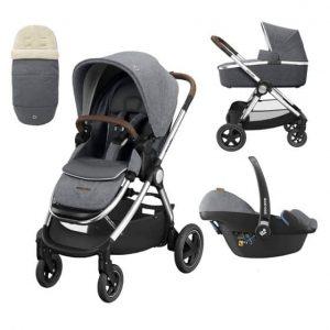 Maxi Cosi Maxi-Cosi Adorra Luxe Pushchair Bundle – Grey Twillic Pitter Patter Baby NI