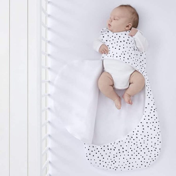 Blankets & Sleeping Bags SnuzPouch Sleeping Bag – Mono Spots Pitter Patter Baby NI 6