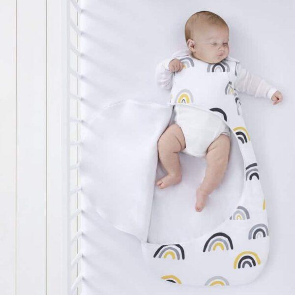 Blankets & Sleeping Bags SnuzPouch Sleeping Bag – Mustard Rainbow Pitter Patter Baby NI 7