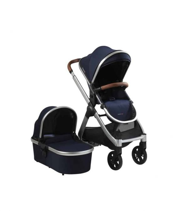 Travel Systems RAFFI PUSHCHAIR 3-IN-1 TRAVEL SYSTEM – NAVY BLUE Pitter Patter Baby NI 4