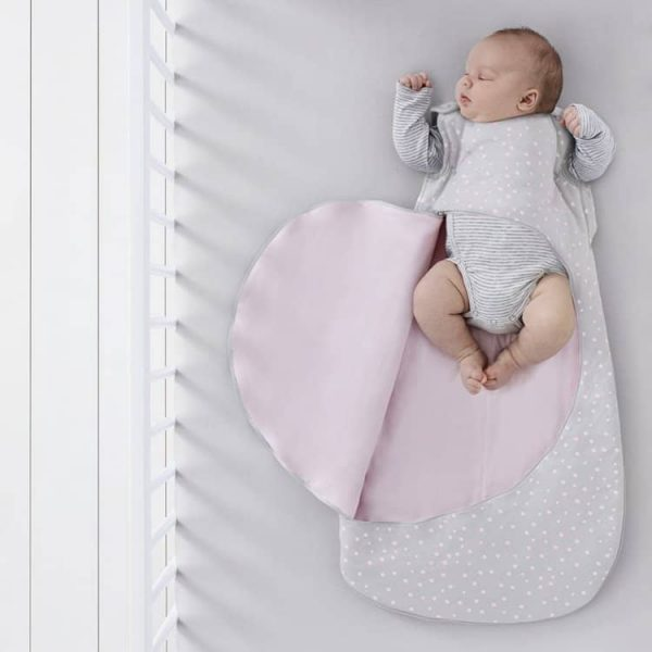 Blankets & Sleeping Bags SnuzPouch Sleeping Bag 2.5 tog 0-6months – Rose Spots Pitter Patter Baby NI 8