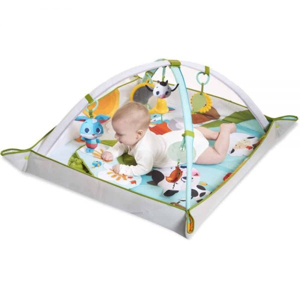 Playgyms & Playmats Tiny Love Gymini Kick & Play-Farm Pitter Patter Baby NI 4