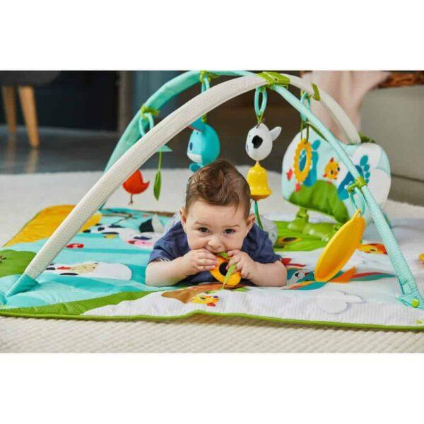 Playgyms & Playmats Tiny Love Gymini Kick & Play-Farm Pitter Patter Baby NI 7