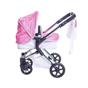 Roma Stephanie Single Dolls Pram – Sparkle 3-9 years