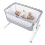 Cribs & Next2Me Cribs Chicco Next2Me Air Bedside Crib Sleeptime Bundle Pitter Patter Baby NI 3
