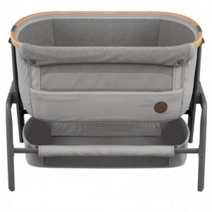 Cribs & Next2Me Cribs Maxi Cosi Iora Bedside Crib – Essential Grey Pitter Patter Baby NI