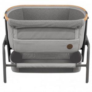Maxi Cosi Iora Bedside Crib – Essential Grey