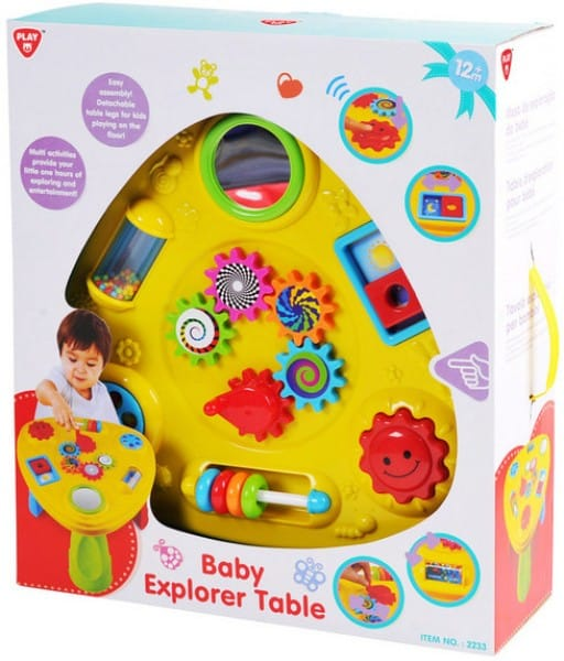 Toys Baby Explorer Table Pitter Patter Baby NI 4