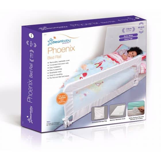 Baby Health & safety essentials Dreambaby Phoenix Bed Rail Pitter Patter Baby NI 4