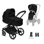 Cybex Cybex Priam Bundle with next2magic crib Pitter Patter Baby NI 3