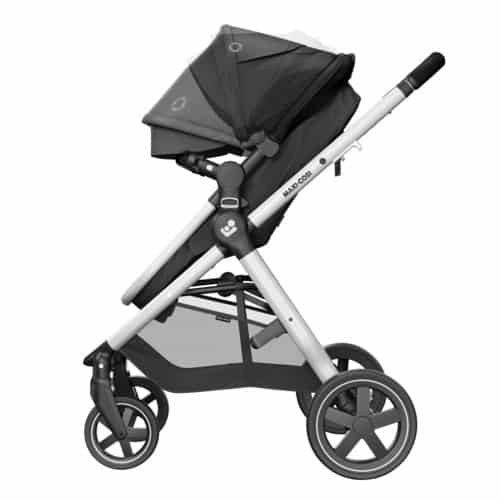 Maxi Cosi Zelia 2 Travel System with Tinca Carseat & Isofix base Pitter Patter Baby NI 6