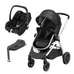 Zelia 2 Travel System with Tinca Carseat & Isofix base
