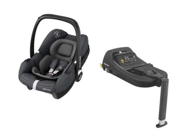 Maxi Cosi Zelia 2 Travel System with Tinca Carseat & Isofix base Pitter Patter Baby NI 13