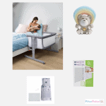 Cribs & Next2Me Cribs Chicco Next2Me Air Bedside Crib Sleeptime Bundle Pitter Patter Baby NI 2