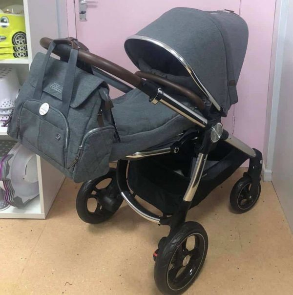 CLEARANCE Ocarro 6 pc bundle – grey mist Pitter Patter Baby NI 5