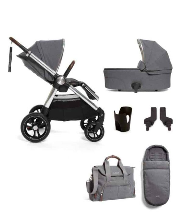 Clearance & Ex Display Ocarro 6 pc bundle – grey mist Pitter Patter Baby NI 4