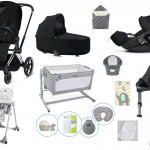 Cybex Cybex Priam Bundle with next2magic crib Pitter Patter Baby NI 2