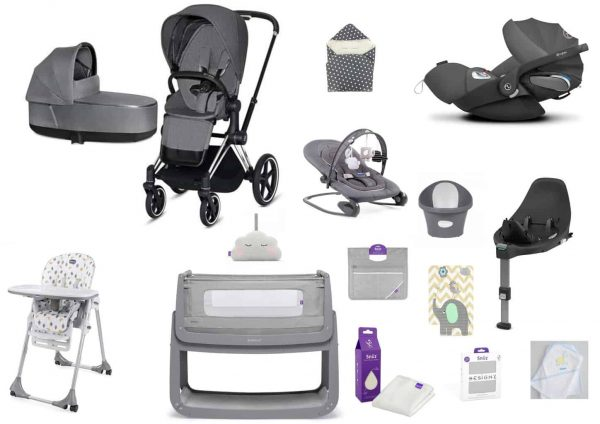 Cybex Cybex Priam bundle with snuzpod 4 Pitter Patter Baby NI 4