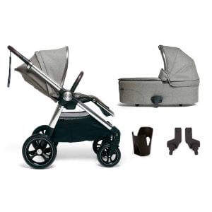 Travel Systems Ocarro 4 Piece Starter Kit – Woven Grey Pitter Patter Baby NI
