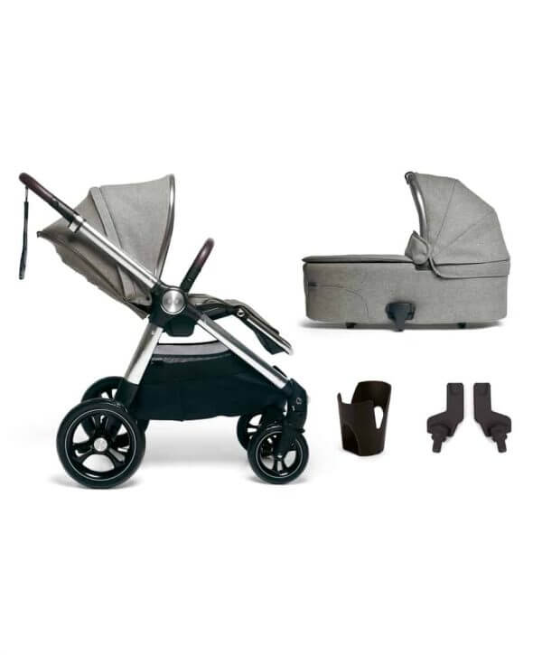 Travel Systems Ocarro 4 Piece Starter Kit – Woven Grey Pitter Patter Baby NI 4