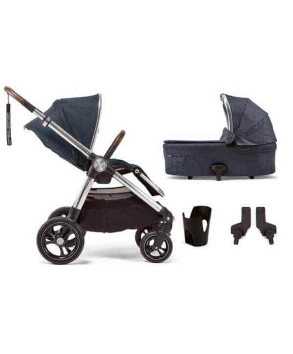 Travel Systems Ocarro 4 Piece Starter Kit – Navy Flannel Pitter Patter Baby NI 4