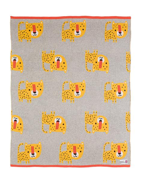 Blankets & Sleeping Bags LEOPARD KNITTED BLANKET Pitter Patter Baby NI 6