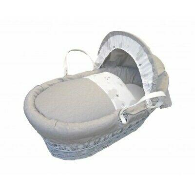 Moses Baskets & Stands Cuddles Collection White wicker sweet dreams Pitter Patter Baby NI 4