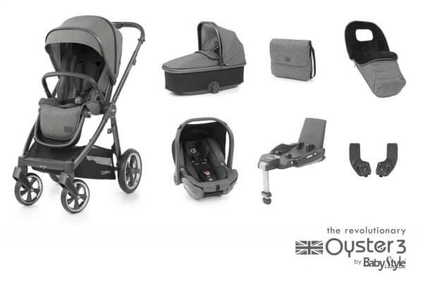 Travel Systems Oyster 3 Luxury Bundle Pitter Patter Baby NI 4