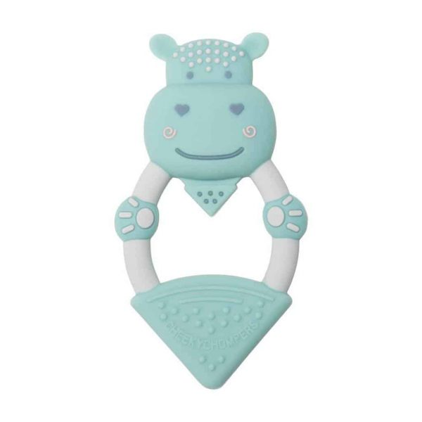 Teething Chewy the Hippo Teether Pitter Patter Baby NI 5