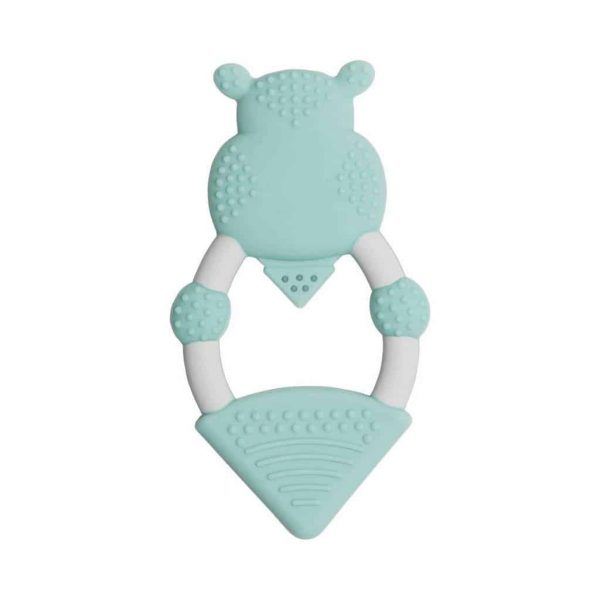 Teething Chewy the Hippo Teether Pitter Patter Baby NI 6