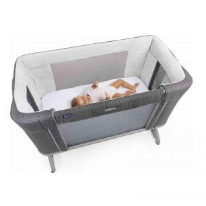 Cribs & Next2Me Cribs Chicco Next2Me Forever Moon Grey Pitter Patter Baby NI
