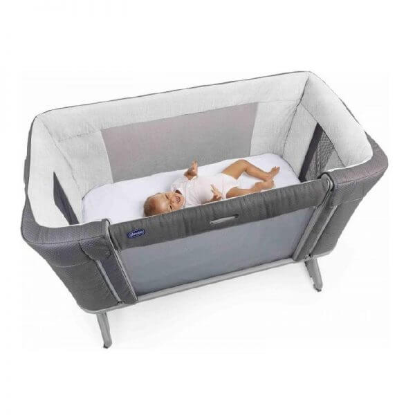 Cribs & Next2Me Cribs Chicco Next2Me Forever Moon Grey Pitter Patter Baby NI 4
