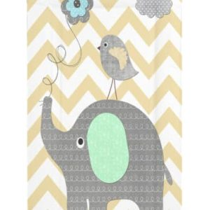 Baths & Changing Mats Elephant Chevron Changing mat Pitter Patter Baby NI