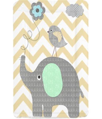 Baths & Changing Mats Elephant Chevron Changing mat Pitter Patter Baby NI 4