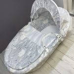 Moses Baskets & Stands Cuddles Collection white wicker – leo & friends Pitter Patter Baby NI 2