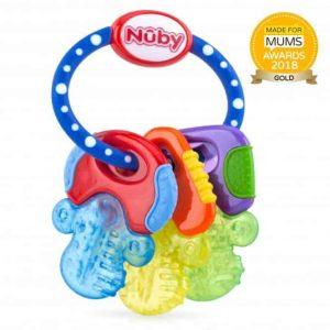 Teething Icy Bite Keys Pitter Patter Baby NI