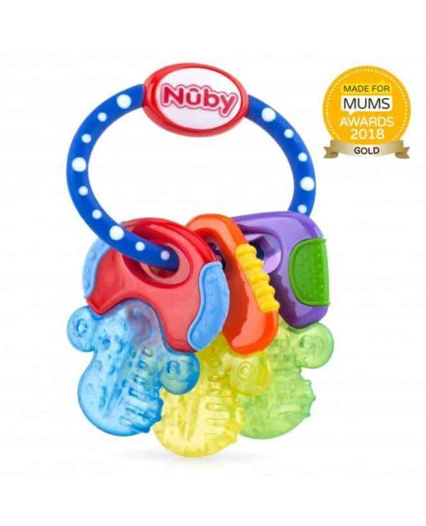 Teething Icy Bite Keys Pitter Patter Baby NI 4
