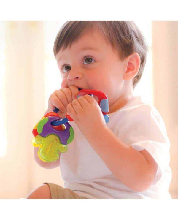 Teething Icy Bite Keys Pitter Patter Baby NI 10