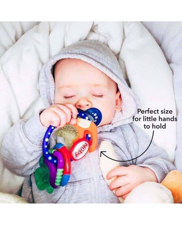 Teething Icy Bite Keys Pitter Patter Baby NI 11
