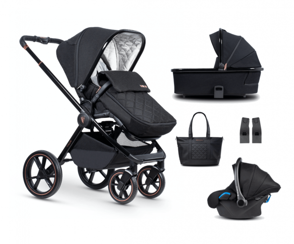Travel Systems Venicci Tinum SE – Stylish Black Pitter Patter Baby NI 4