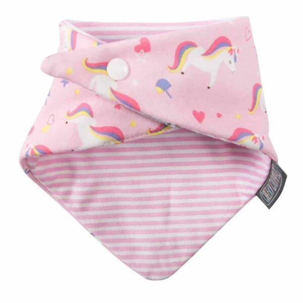 Teething Unicorn & Dots Neckerbibs Pitter Patter Baby NI 6