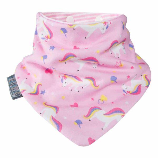 Teething Unicorn & Dots Neckerbibs Pitter Patter Baby NI 7