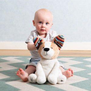 sensory toys Peek-A-Boo Soft Toy – DANNY Pitter Patter Baby NI