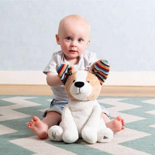 sensory toys Peek-A-Boo Soft Toy – DANNY Pitter Patter Baby NI 4