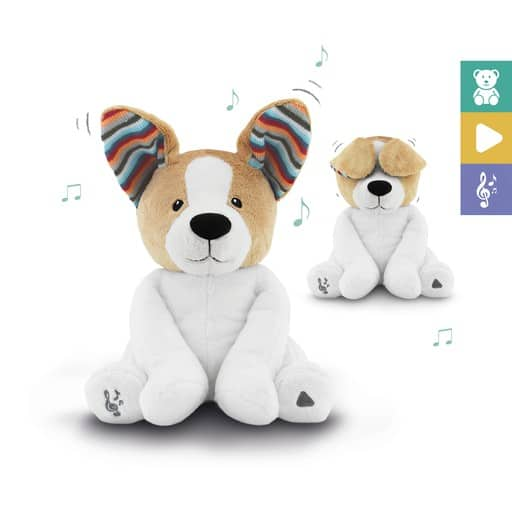 sensory toys Peek-A-Boo Soft Toy – DANNY Pitter Patter Baby NI 8